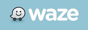 כפתור ניווט waze
