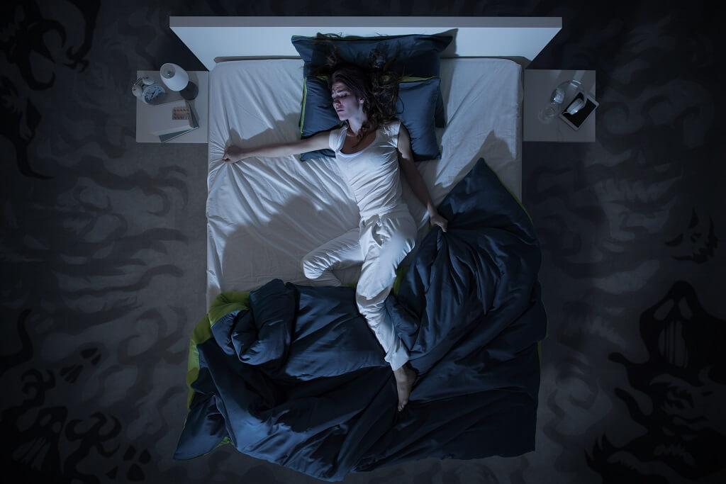 הזעת יתר בלילה
